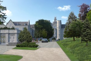 ADARE MANOR ENTRANCE | Deluxe Small Group Tours of Ireland