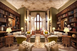 ADARE MANOR LIBARY | Luxury Family Tours Ireland