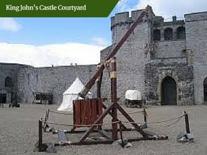 King Johns Castle Courtyard | Private Escorted Tours of Ireland