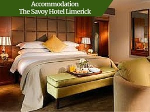 The Savoy Hotel Limerick Accommodation | Deluxe Discover Ireland Tour