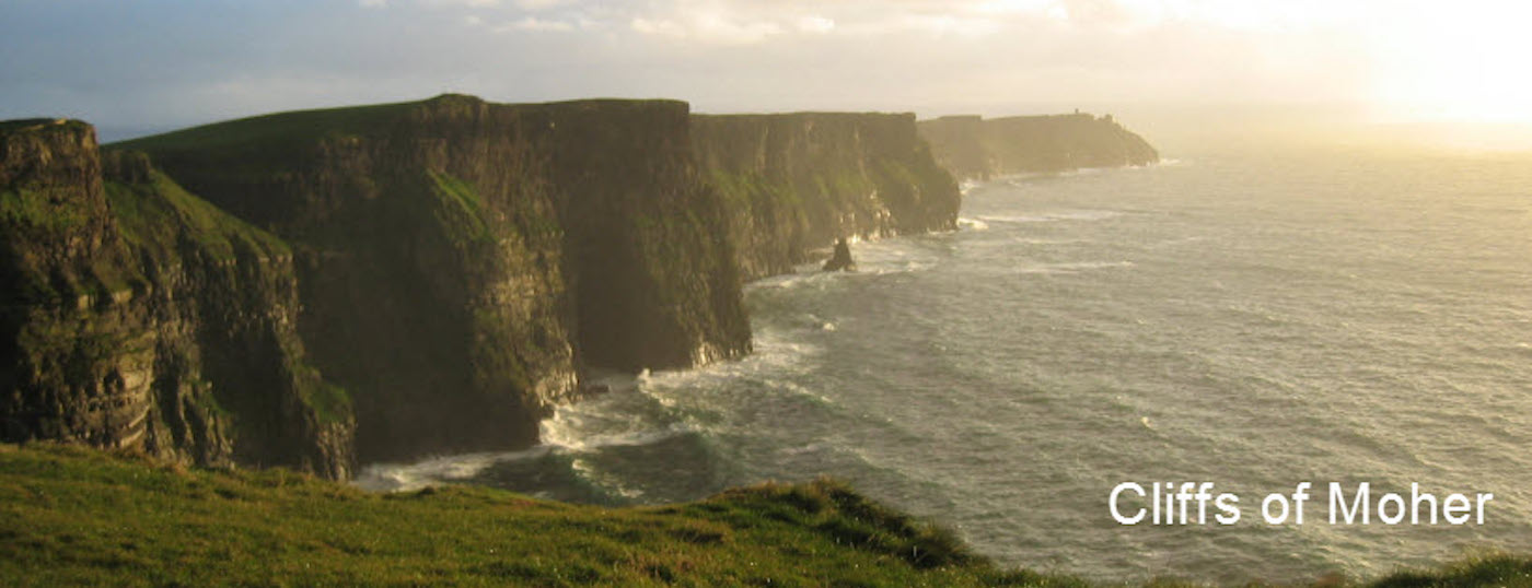 Viewing the Cliffs of Moher on a Tour with Executive Hire