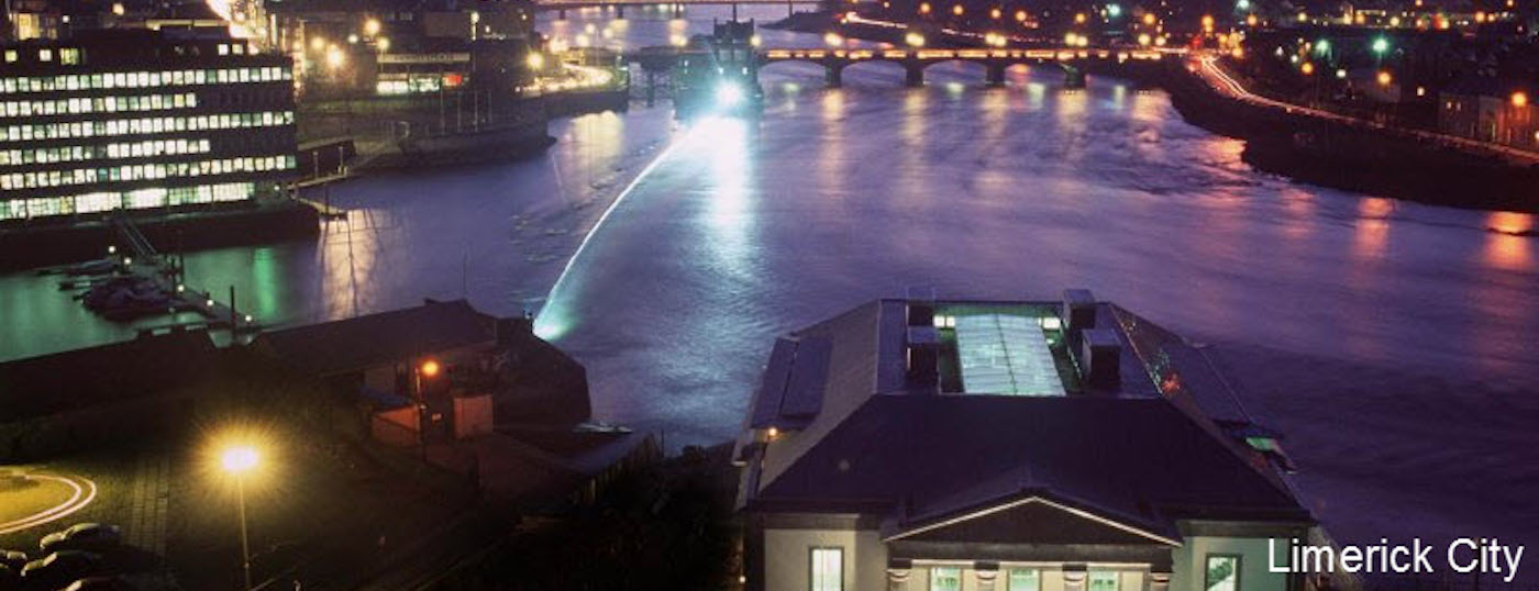 Limerick City at Night