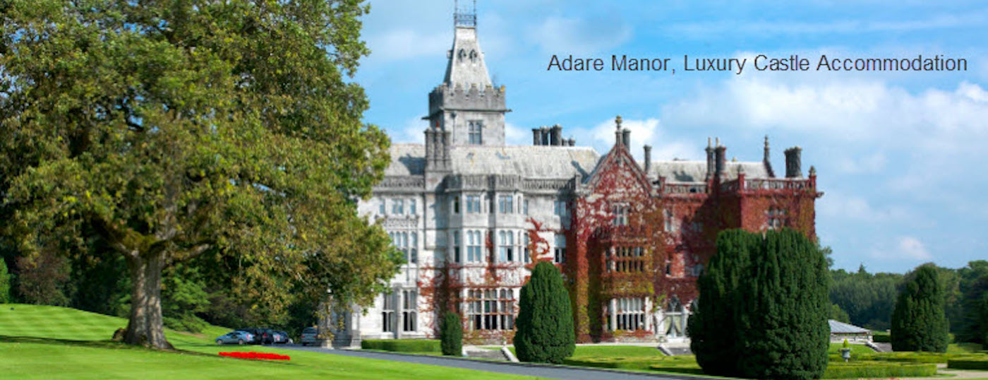 Adare Manor Luxury Accommodation