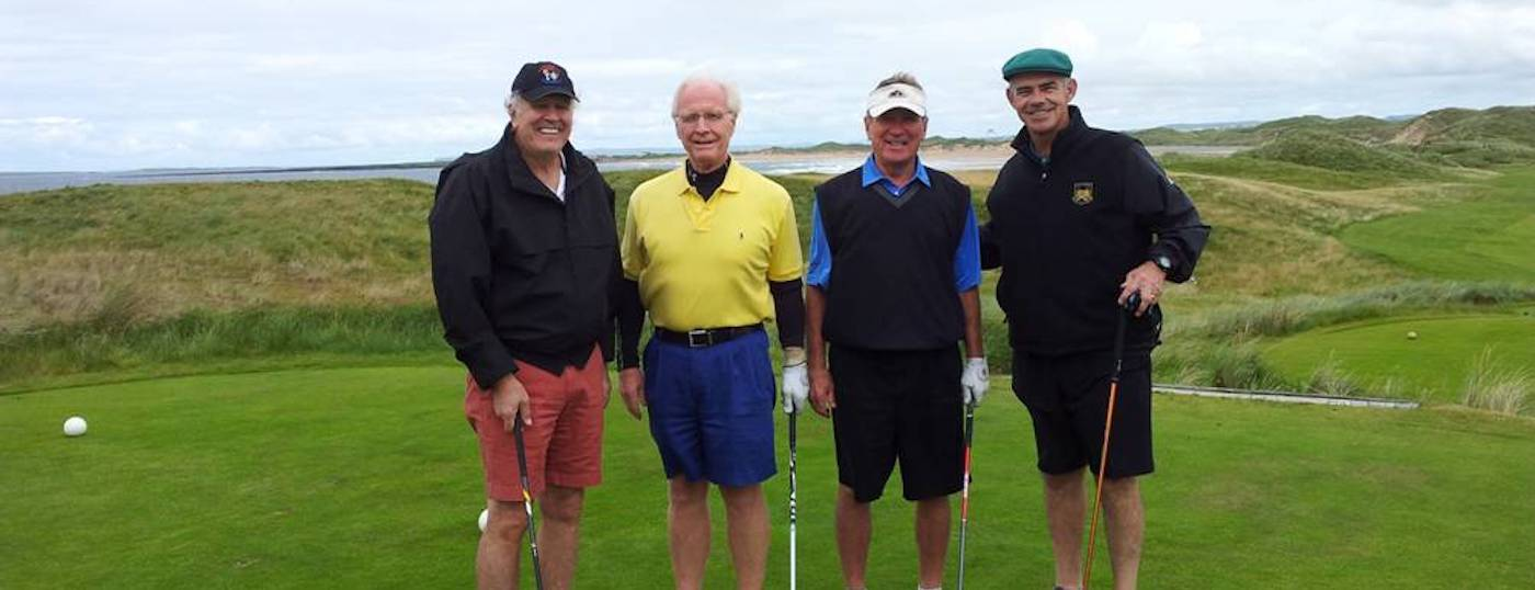 Four Friends on Exclusive Golf Tour with Executive Tours