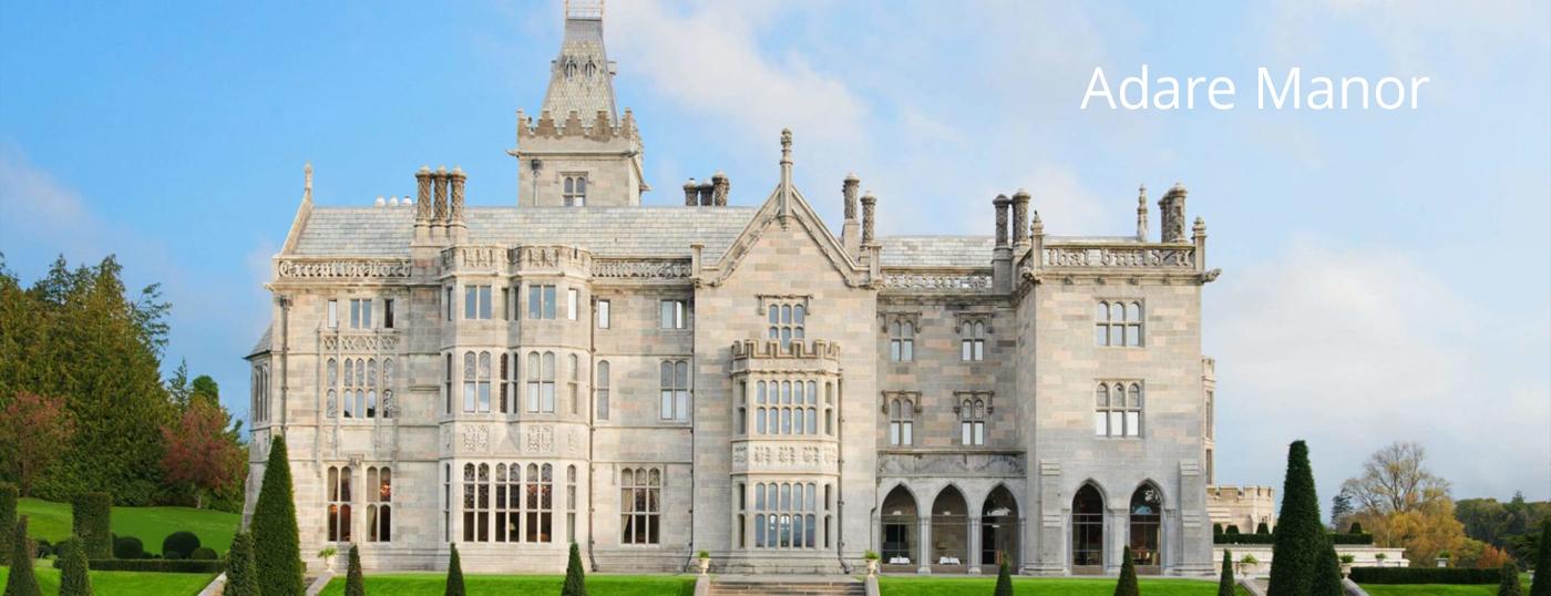 Adare Manor | Luxury Tours Ireland