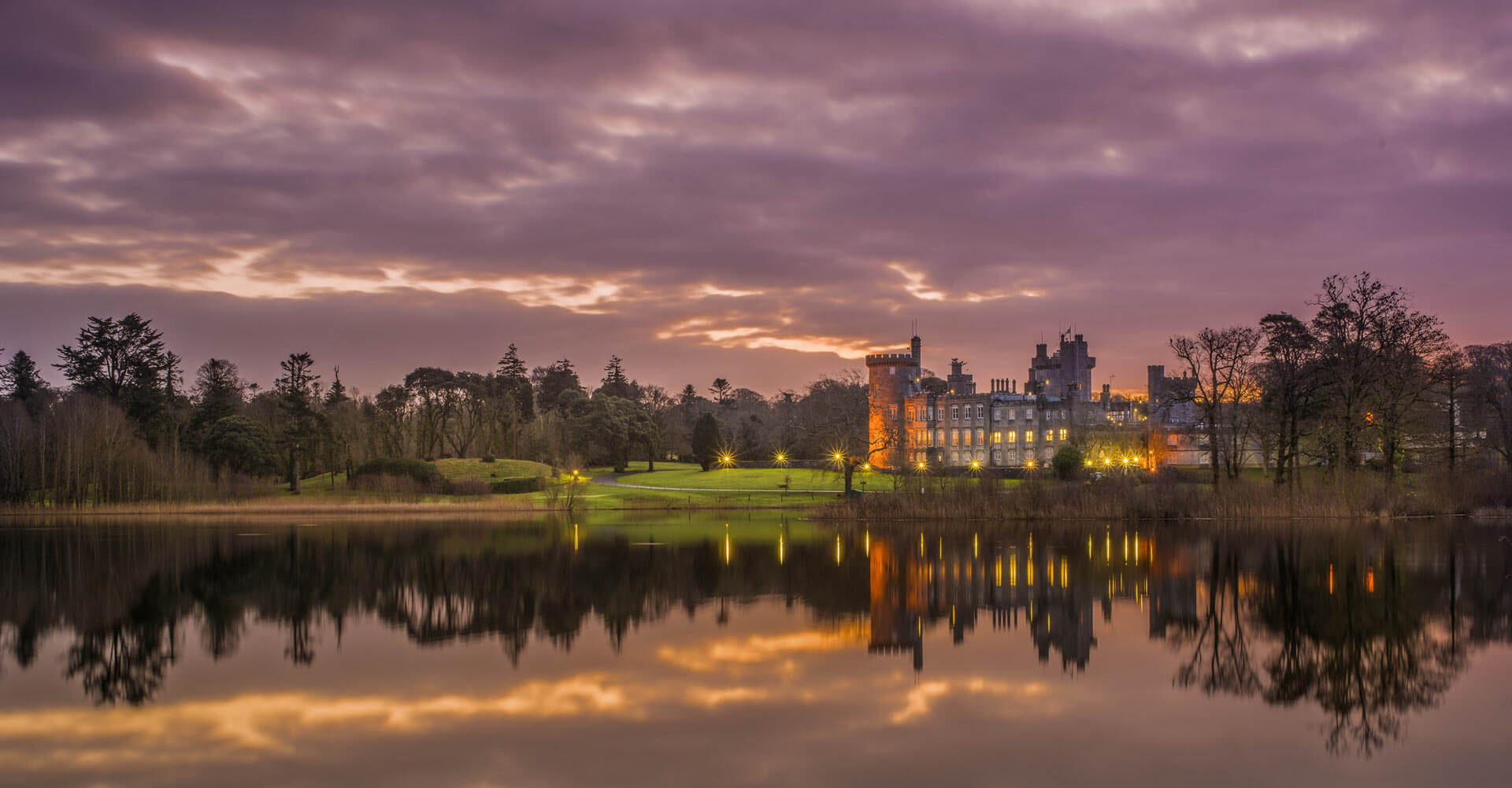 Dromoland Castle Luxury Accommodation with Executive Hire's Tours | Irish golf vacations