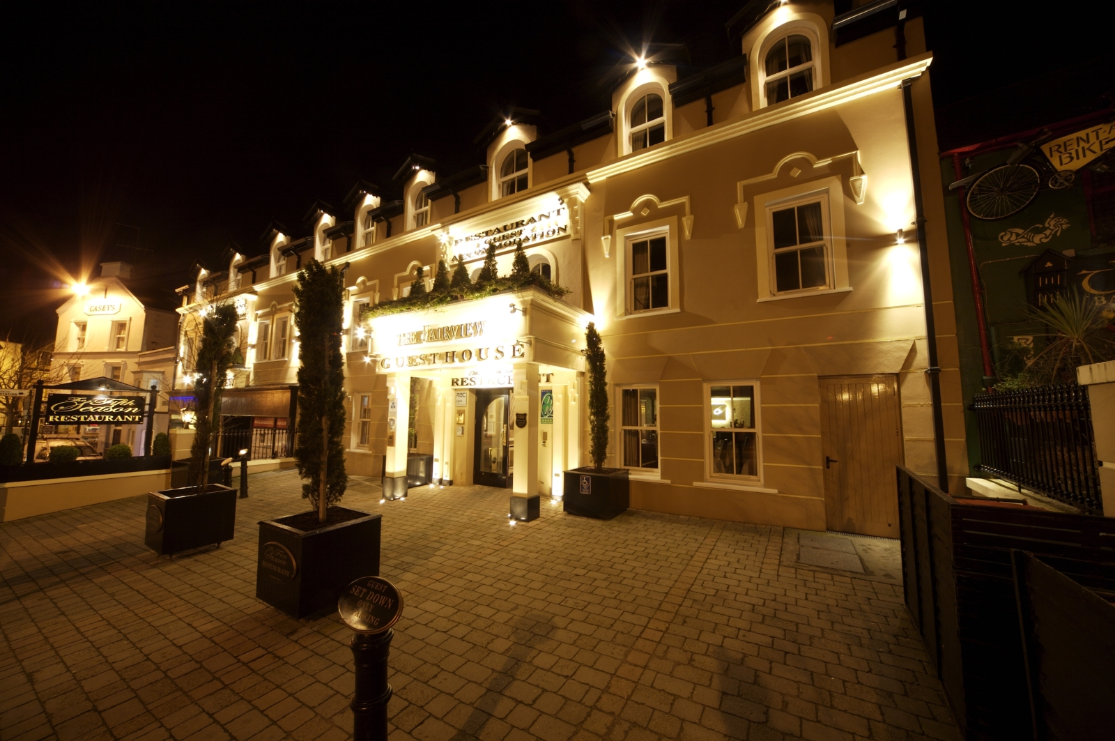 The Fairview Hotel Killarney | Personal Driver Ireland