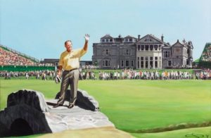 Jack Nicklaus Swilcan Bridge