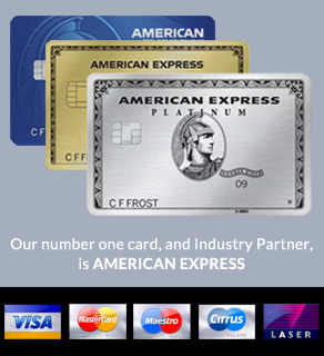 our number one Industry partner is America Express