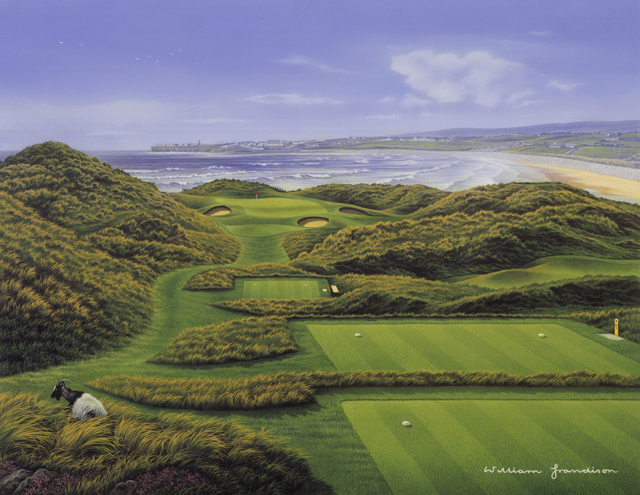 Lahinch golf course | private golf tours of Ireland