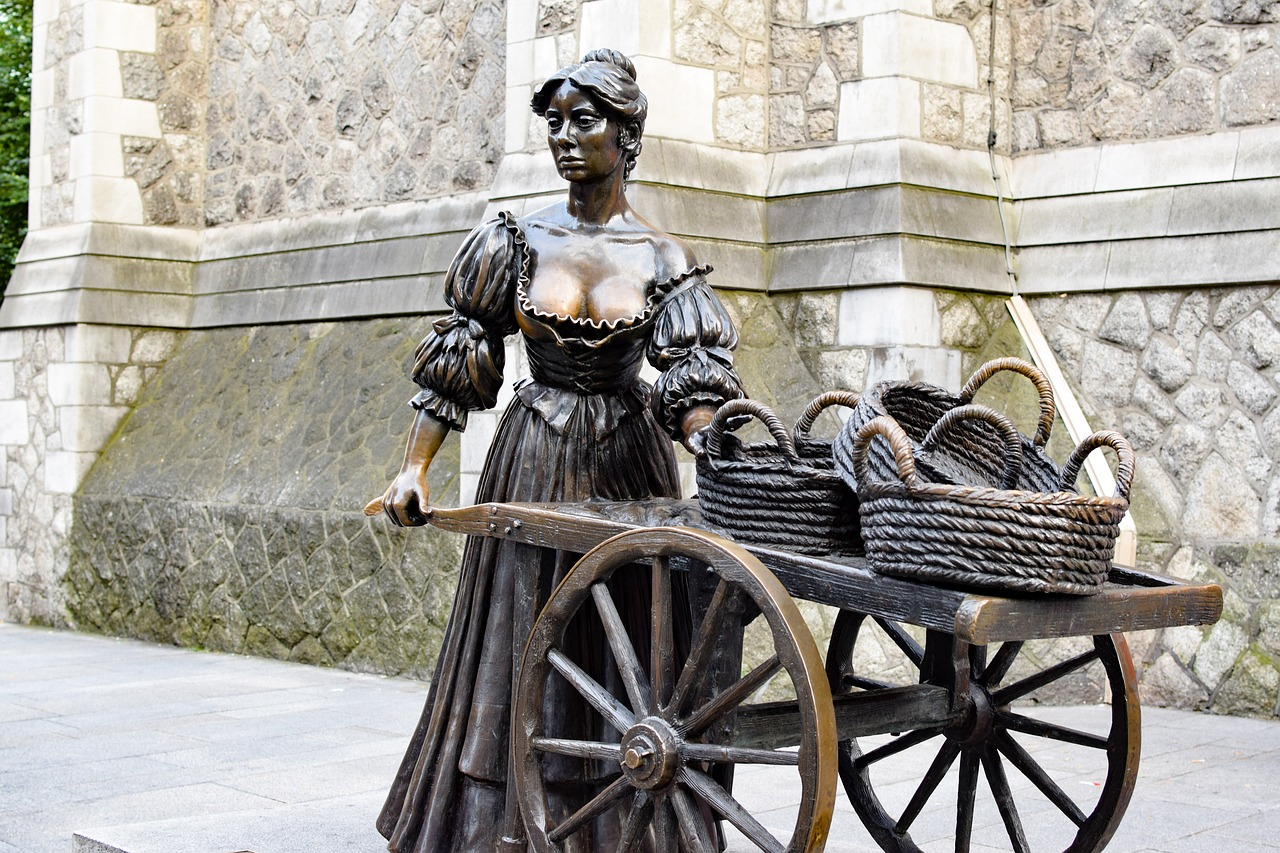 Statue of Molly Malone Dublin | Private Chauffeur Ireland