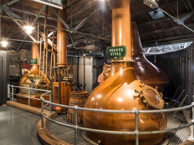 Pot Stils at the Old Jameson Distillery   Ireland Luxury Tour Operator