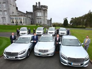 The Mercedes S Class | Small Group Tours Ireland