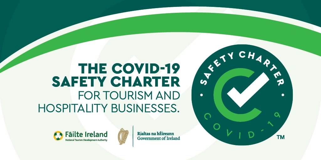covid safety charter logo | Ireland chauffeur tours